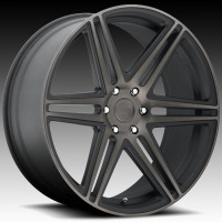 Литые диски DUB Skillz Black & Machined w/Dark Tint