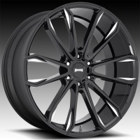 Литые диски DUB Clout Gloss Black & Milled