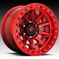 Литые диски Fuel Off-Road Covert Beadlock Candy Red