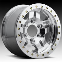 Литые диски Fuel Off-Road Anza Beadlock Raw Machined