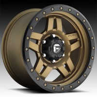 Литые диски Fuel Off-Road Anza Matte Bronze w/ Black Ring