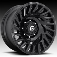 Литые диски Fuel Off-Road Cyclone Gloss Black