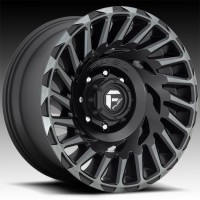 Литые диски Fuel Off-Road Cyclone Matte Black/Machined/DDT