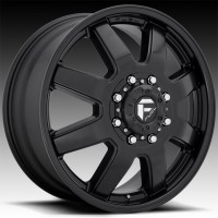 Литые дуальные диски Fuel Off-Road Maverick Dually Front Matte Black