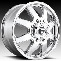 Литые дуальные диски Fuel Off-Road Maverick Dually Front Chrome