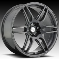 Диски Niche M105 NR6 Anthracite & Milled Spoke