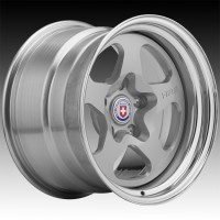 Кованые составные диски HRE 527S Gloss Silver center, Polished Clear outer, Gloss Silver inner