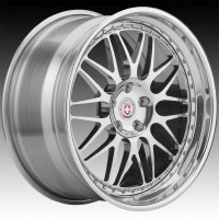 Кованые составные диски HRE 540C Polished Clear center, outer and inner barrel