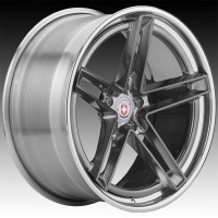 Кованые составные диски HRE G-Code Polished Dark Clear center, Polished Clear outer and inner