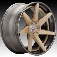 Кованые составные диски HRE RS308 Brushed Champagne center, Polished Dark Clear outer and inner barrel