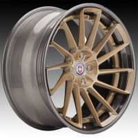 Кованые составные диски HRE RS309 Brushed Champagne center, Polished Dark Clear outer and inner barrel