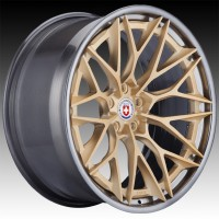 Кованые составные диски HRE S200H Frozen Gold center, Polished Dark Clear outer and inner