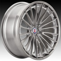 Кованые составные диски HRE S209 Brushed Titanium center, Brushed Dark Clear outer and inner